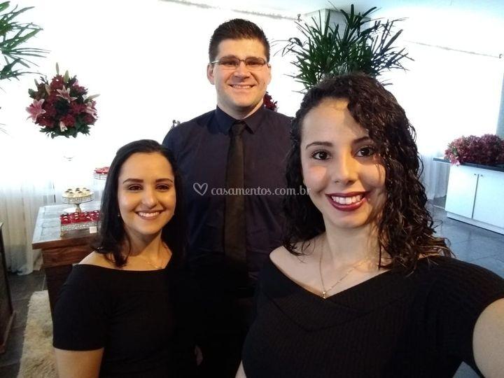 Carolina, Lucas e Shállon