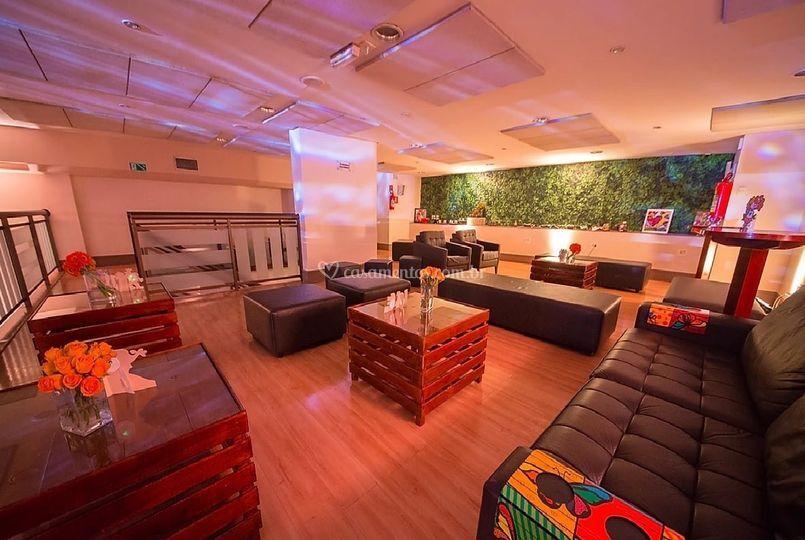 Mezanino com Lounge