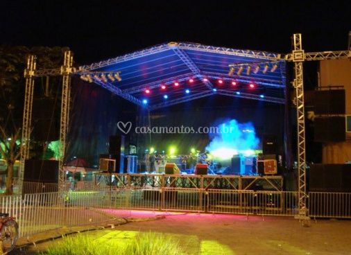 Estrutura de palco