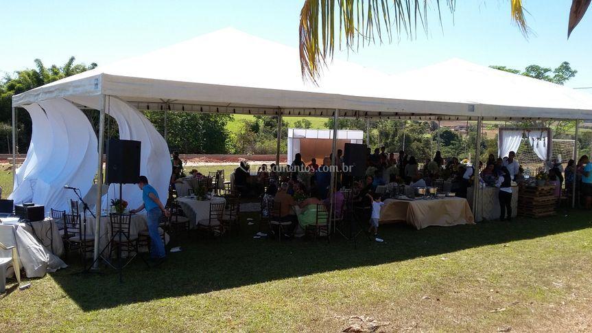 Cerimônia no acampamento betel