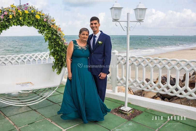 Noivo e Mãe