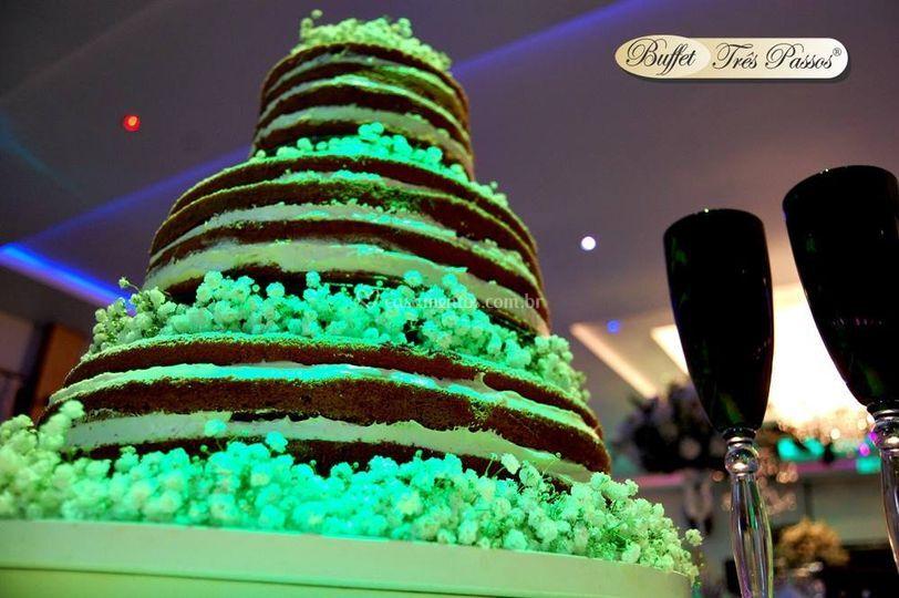 Bolo - Nacked Cake