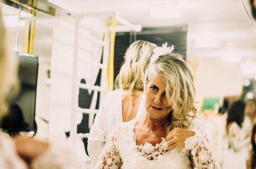 Noiva e o espelho