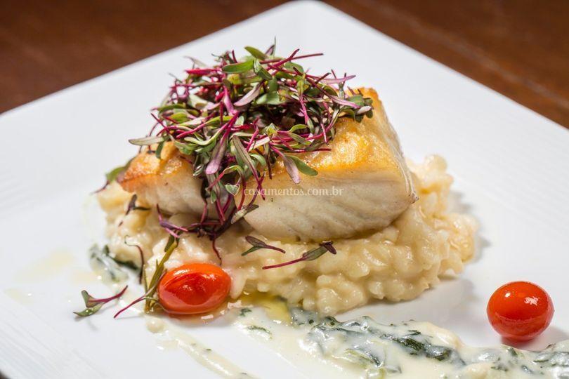 Prato principal peixe