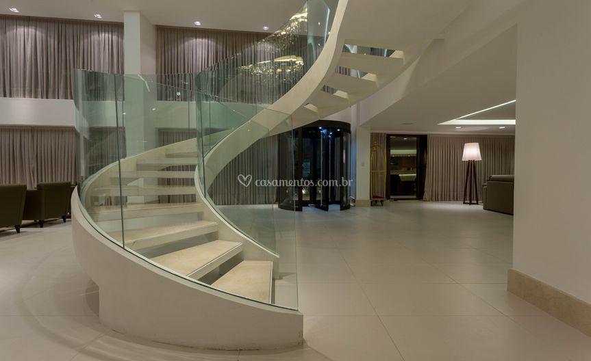 Escada do Lobby