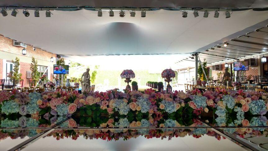 Trilho de flores