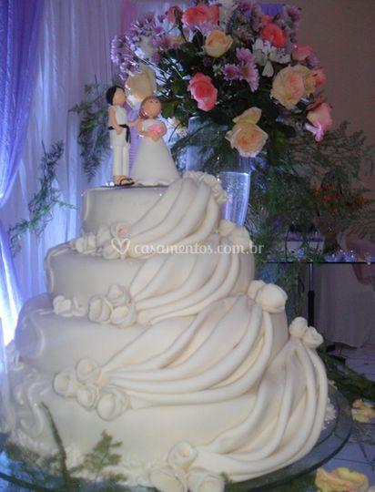 Vista de bolo