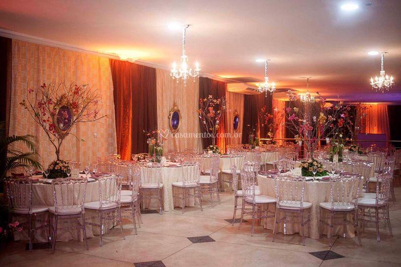 Area de convidados de Vilabelle Buffet e Eventos