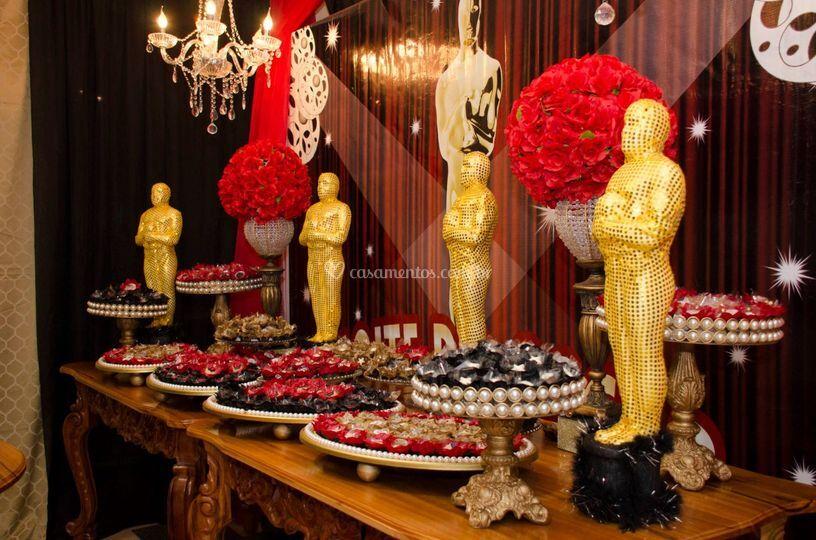 Mesa de doces Oscar