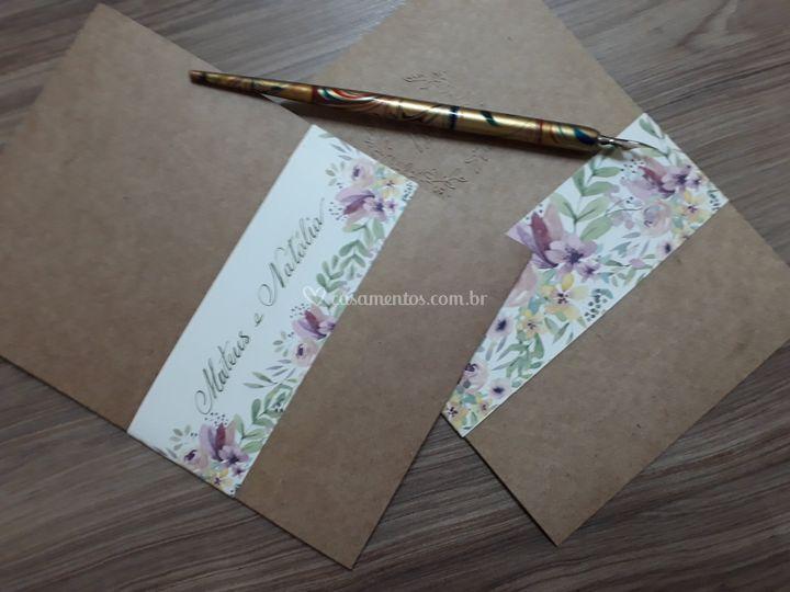 Convite floral 3