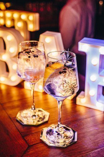 Bar de Gin tônica