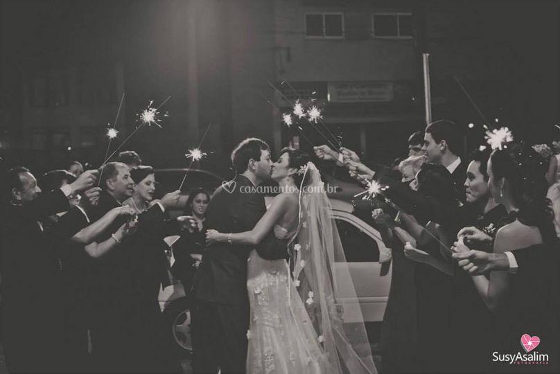 Saida noivos