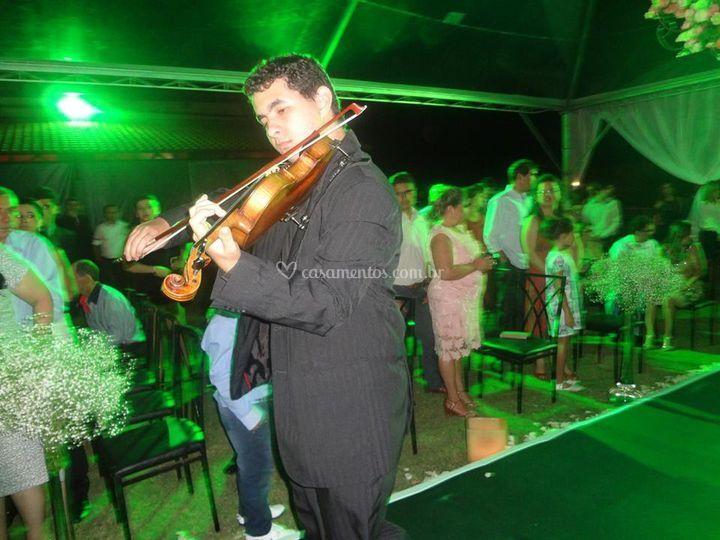 Violinista antes da noiva