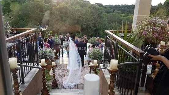 Cerimônia no Deck