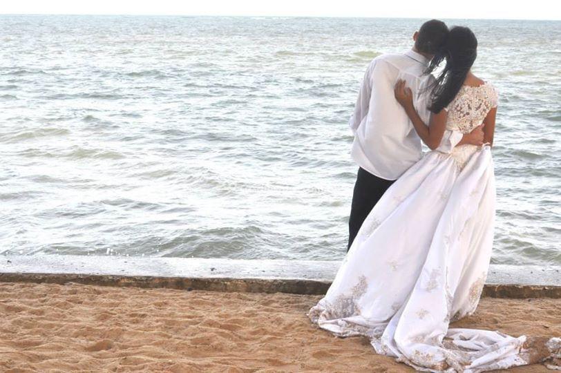 Ensaio externo pré casamento