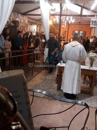 Casamento Ecumênico, lindo.