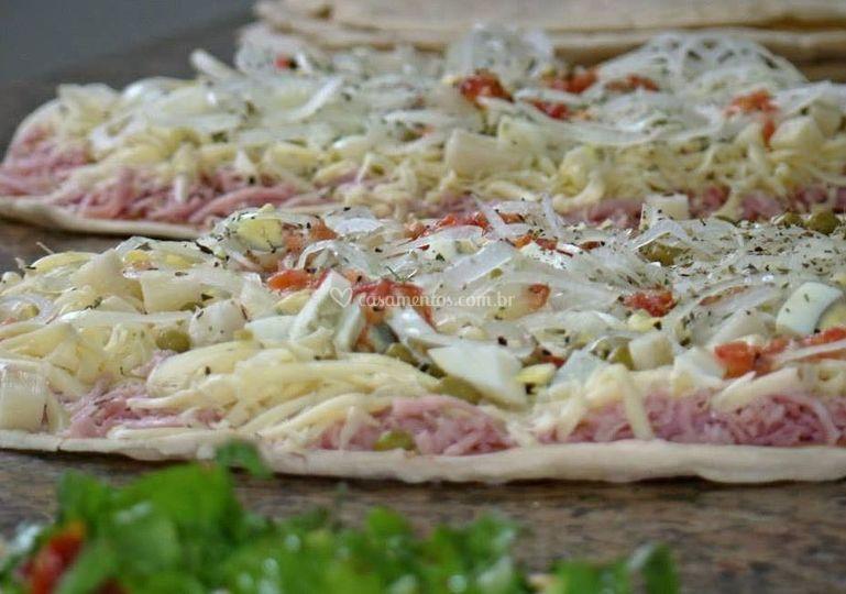 Rodizio de pizza