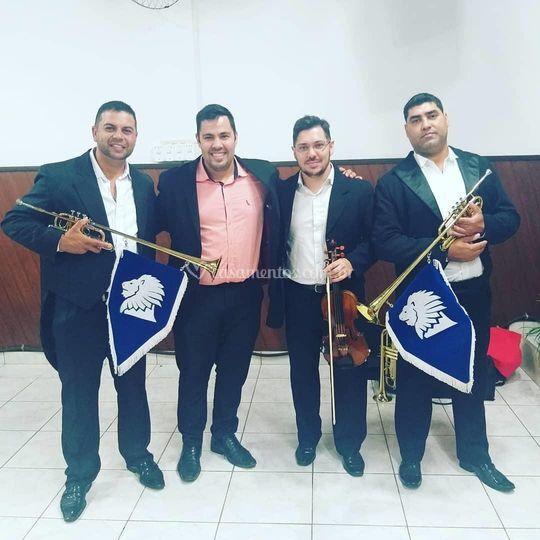 FBG Clarins e Violino