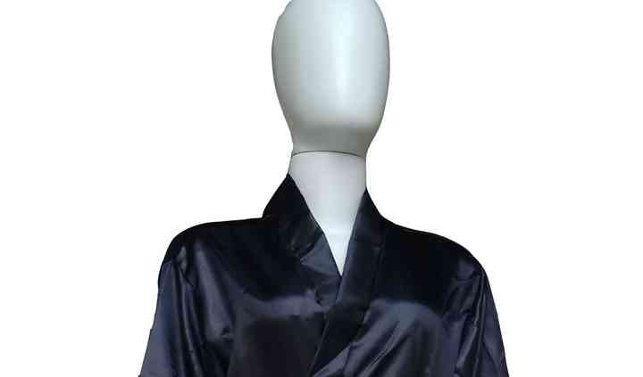 Robe Longo Feminino Preto