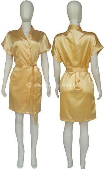 Robe Feminino Noiva Marfim