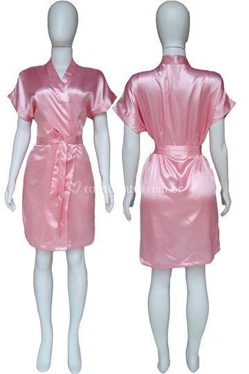 Robe Feminino Rosa Escuro
