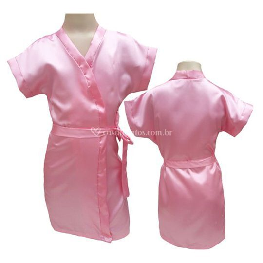 Robe infantil feminino rosa be