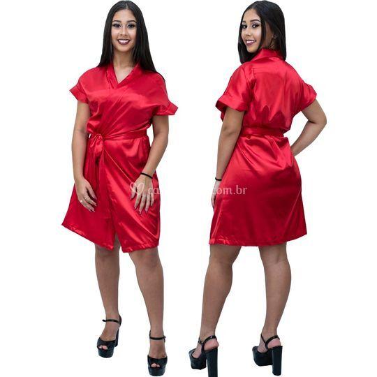 Robe Feminino Com Elastano Ver