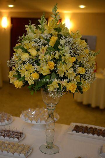 Mesa de doces bodas de ouro