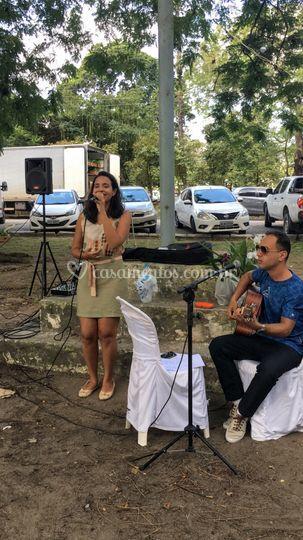 Cantando no Parque