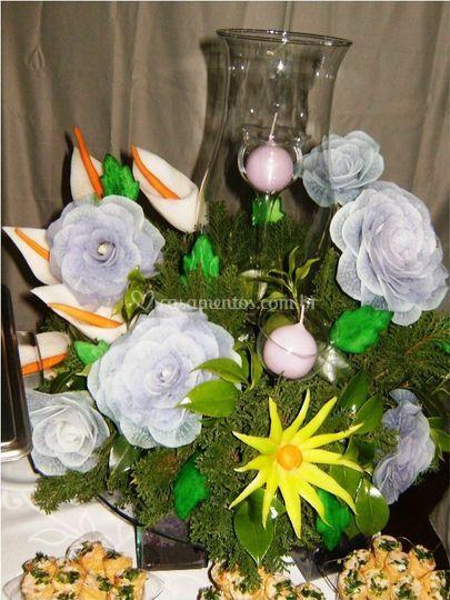 Flores de nabo