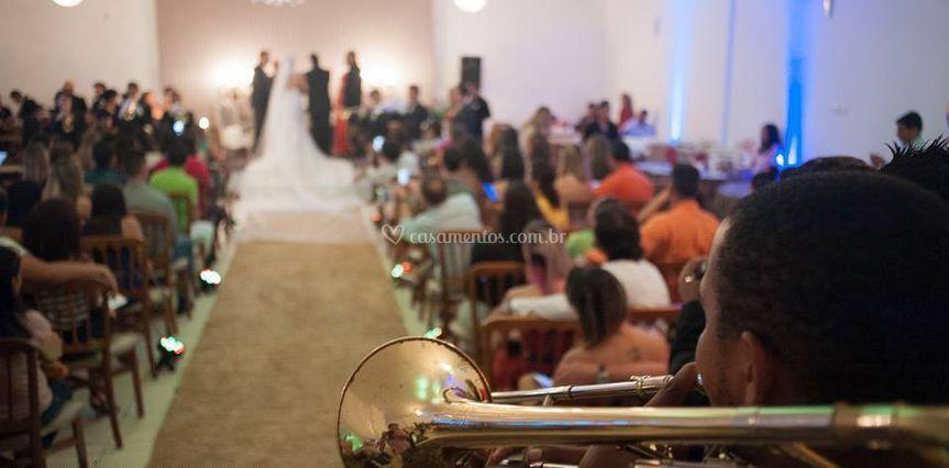 Emocionante casamento