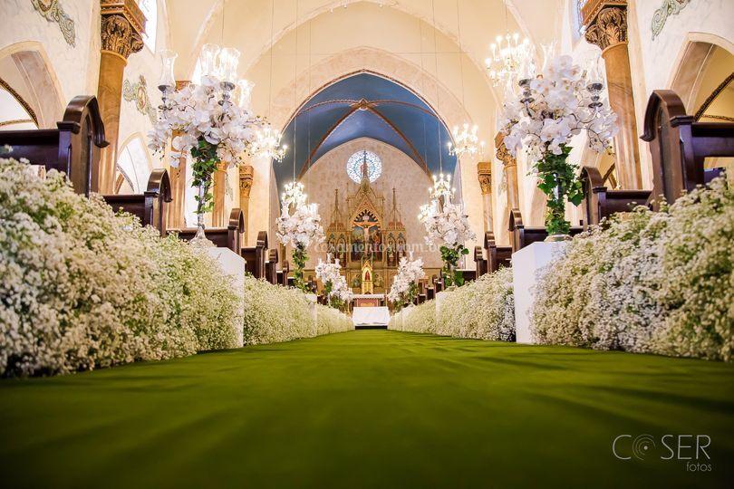 Igreja,casamento, noivos