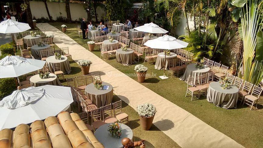 Cerimônia A Tarde De Jardim Odhara ~ Casamento No Jardim Odhara