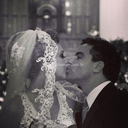 Beijo com amor - noivos CALL