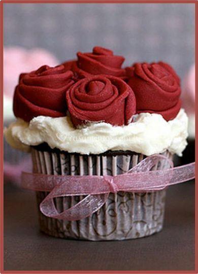 Divine Cake Designs Dorado : Cupcake de Bolos Divine Cake Design Foto 5
