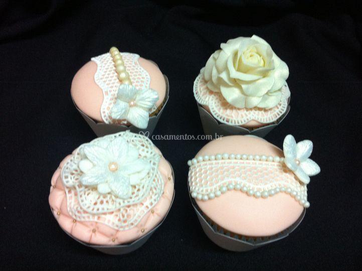 Divine Cake Designs Dorado : Cupcakes de casamento de Bolos Divine Cake Design Foto 14