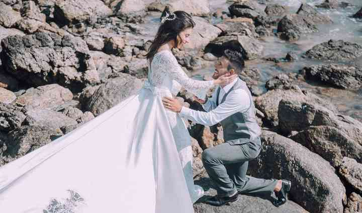 Look pre wedding Alan Ruschel