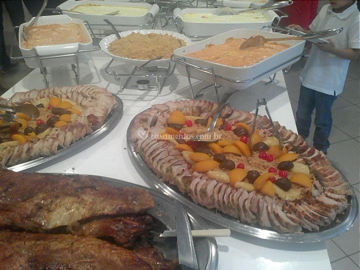 Buffet carnes