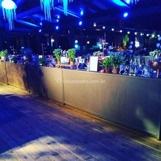 Evento bar para 1000 convidados