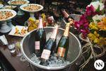 Champagne e Canap�s de Buffet Happy Night