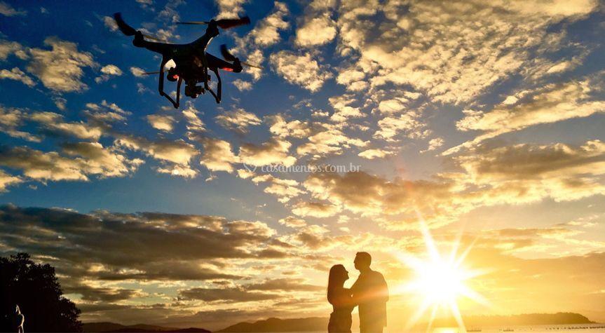 Book com drone
