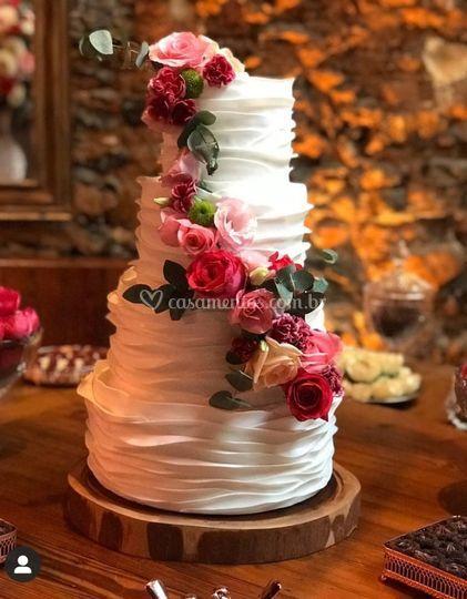 Ruffled Cake maravllhoso
