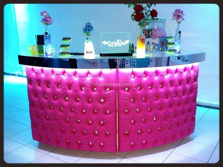 Bar de captone rosa