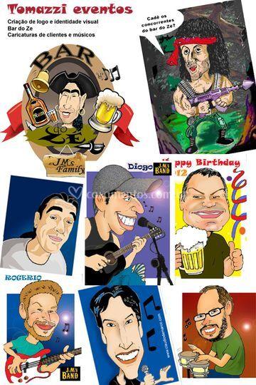 Caricaturas Coloridas