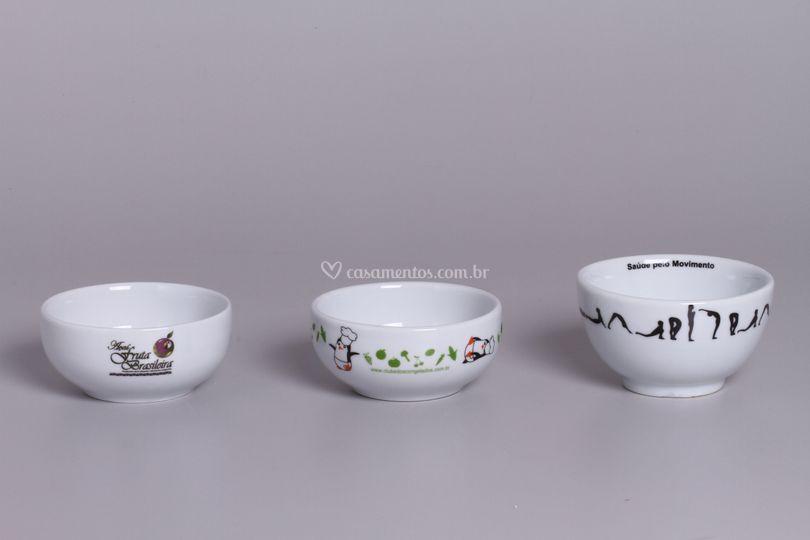 Bowl porcelana personalizado
