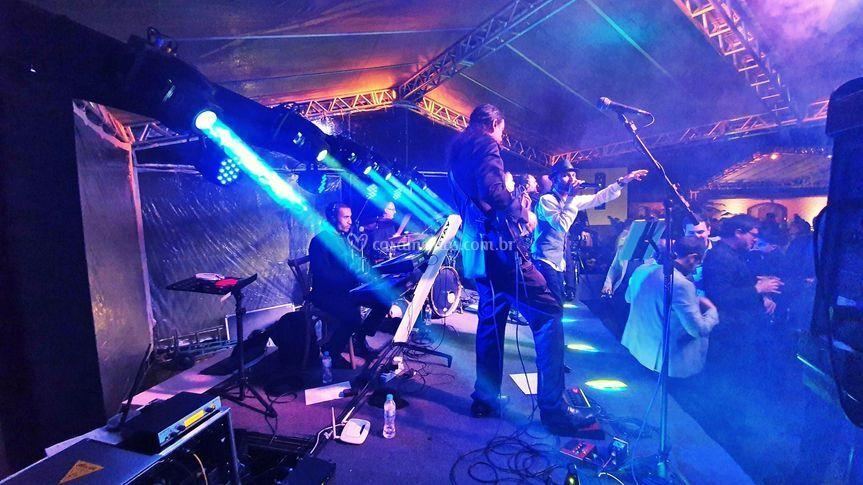 Bandas (Rider de luz e palco)