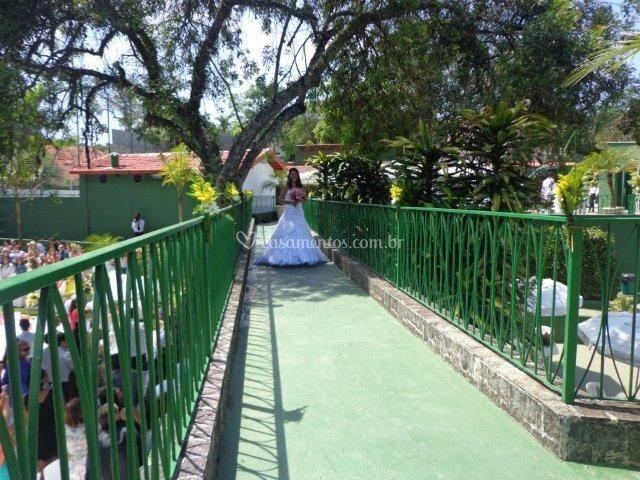 Passarela da noiva