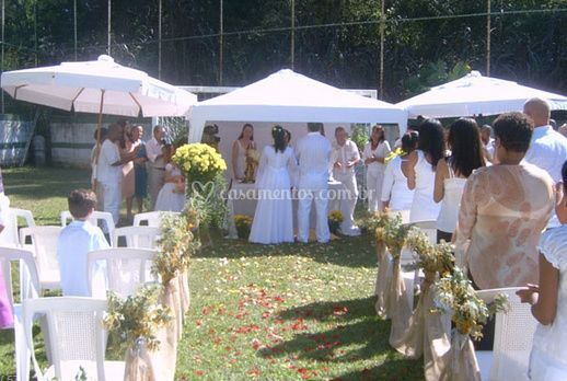 Ideal para casamentos de Chácara Santana