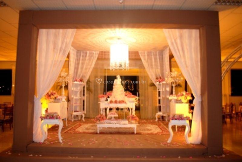 Mesa de bolo, Gazebo de tecido