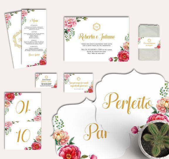 Kit de Papelaria Digital